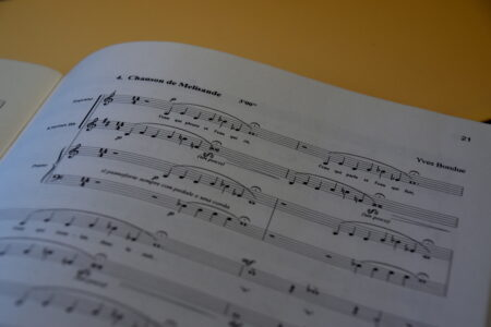 Partition Chanson de Melisande - Maurice Maeterlinck & Yves Bondue