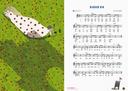 Ridder Rik, een liedje van Yves Bondue