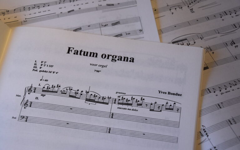 Orgelwerk van Yves Bondue