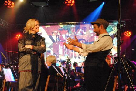 Kathy De Wilde en Herman Verberckmoes in Anna (2016) van Yves Bondue