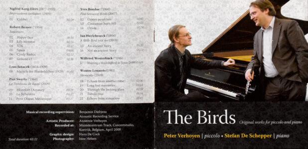 Five Senses of Birds for piccolo & piano - Yves Bondue