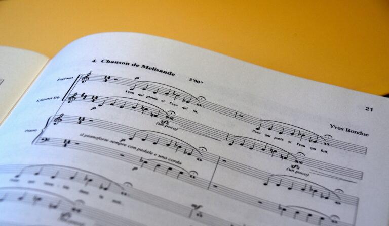 Cing Chansons - Maeterlinck/Bondue