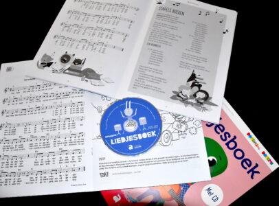 Liedjesboeken van Yves Bondue