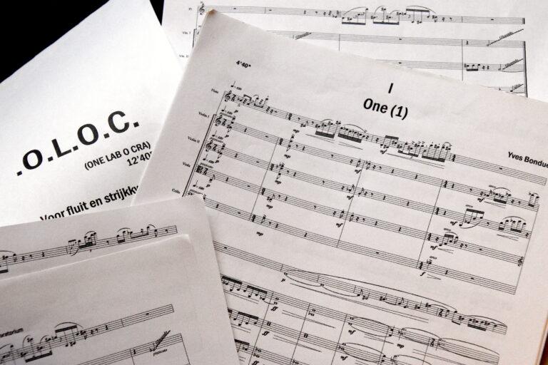 Yves Bondue contemporary music