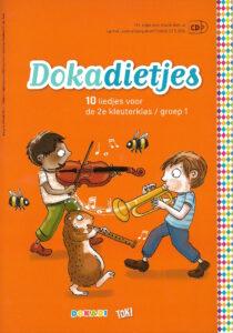 Dokadietjes, een liedboek van Yves Bondue