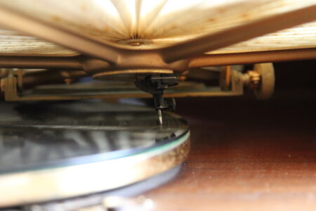 WXII - historische phonographe, Wormhout (Fr.), 2016 - foto: Luc Vanhoucke