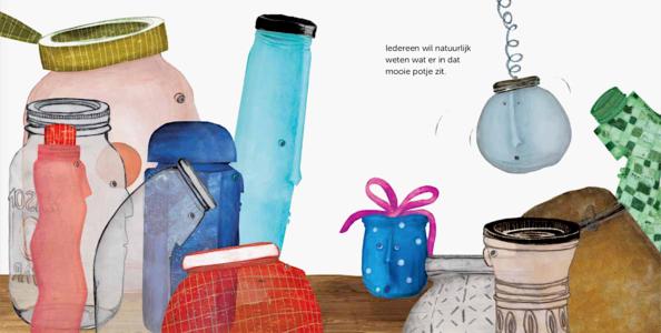 spread uit Curieuzeneuzemosterdpot van Yves Bondue & Harlinde Keymolen