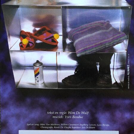 GEMEENSCHAP, EEN KAMEROPERA VAN WIM DEWULF & YVES BONDUE, Gemeenschap, kameropera van Wim Dewulf en Yves Bondue, 1998
